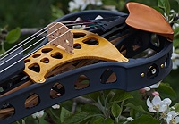 violorama sycorax electric five string violin bridge