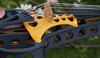 violorama sycorax electric five string violin soundpost