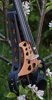 violorama sycorax electric five string violin bassbar and output jack